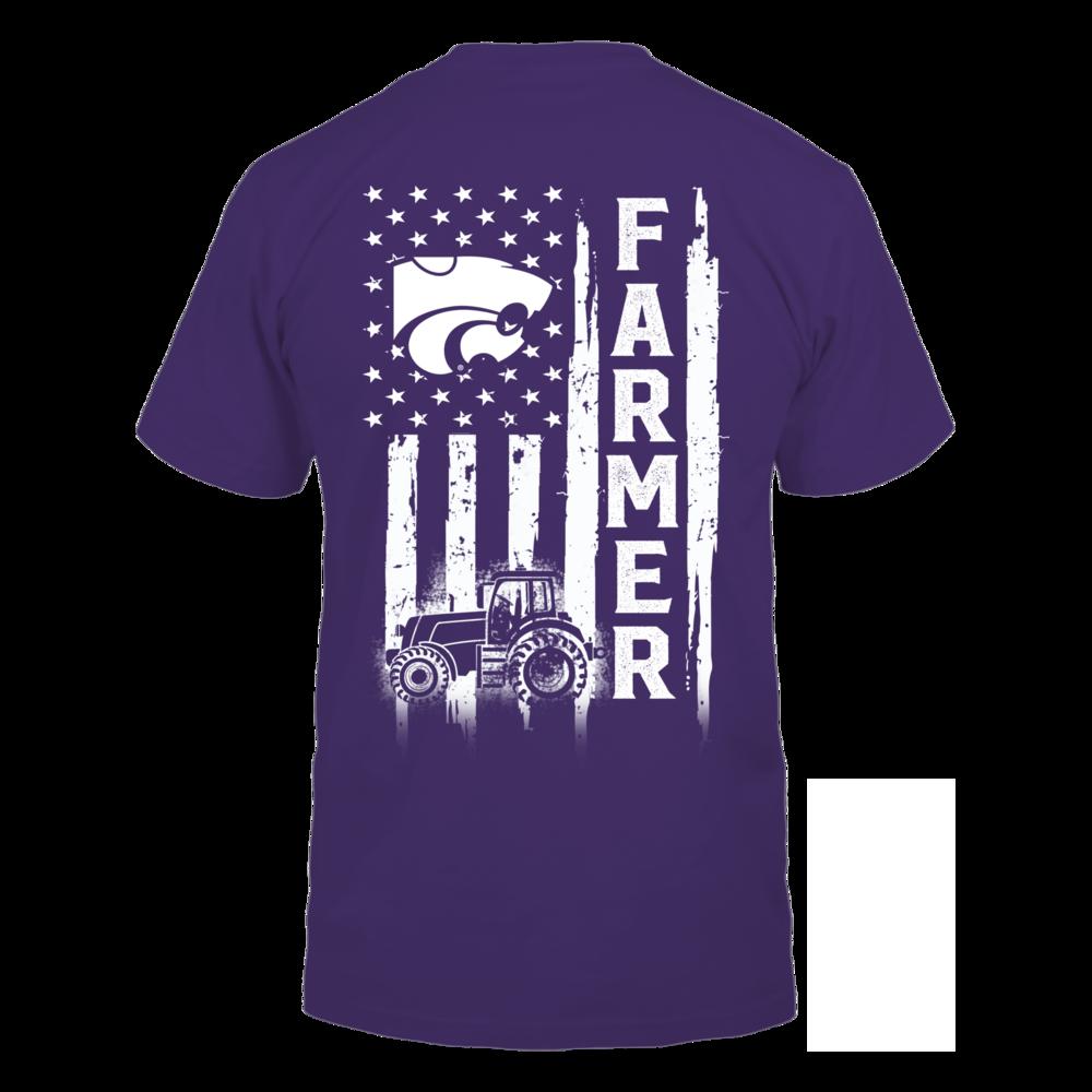 Kansas State Wildcats - Farmer - Flag Shirt Back picture