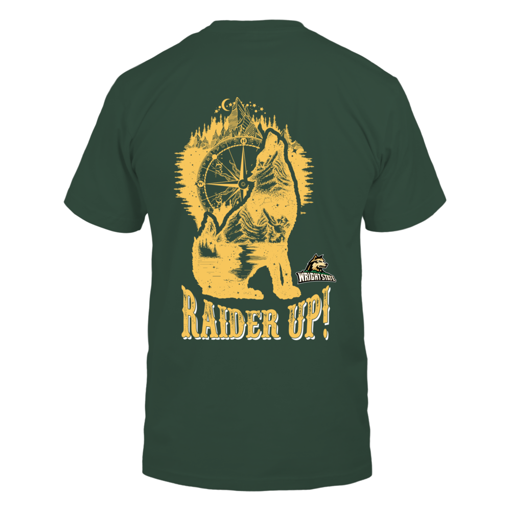 Wright State Raiders - Camping - Compass Wolf Back picture