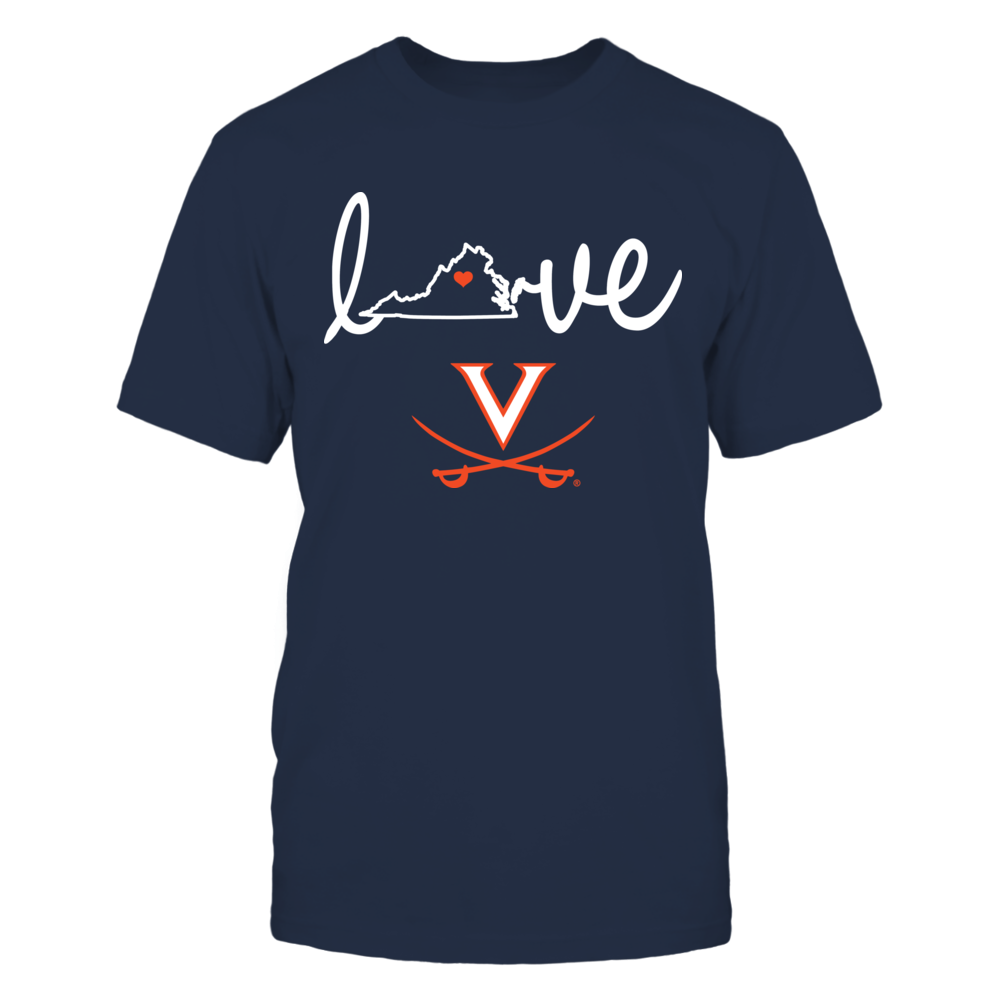 Virginia Cavaliers - State Love Front picture