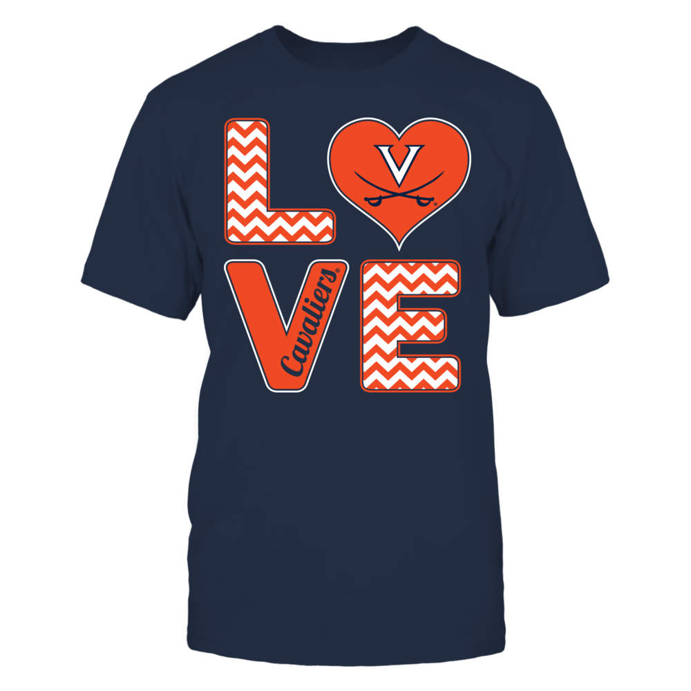 Virginia Cavaliers - Stacked Love Front picture