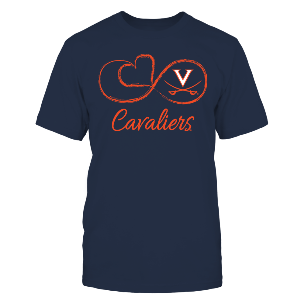 Virginia Cavaliers - Infinite Heart Front picture