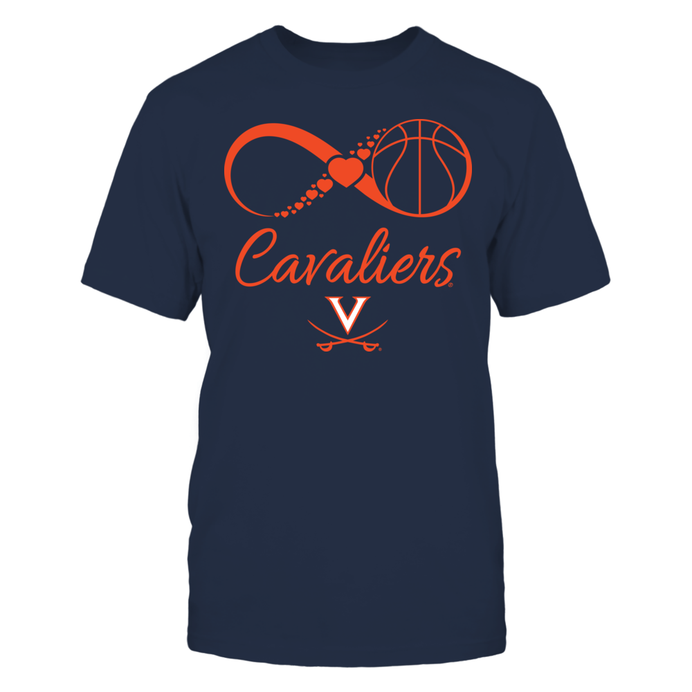 Virginia Cavaliers - Infinite Basketball Love Front picture