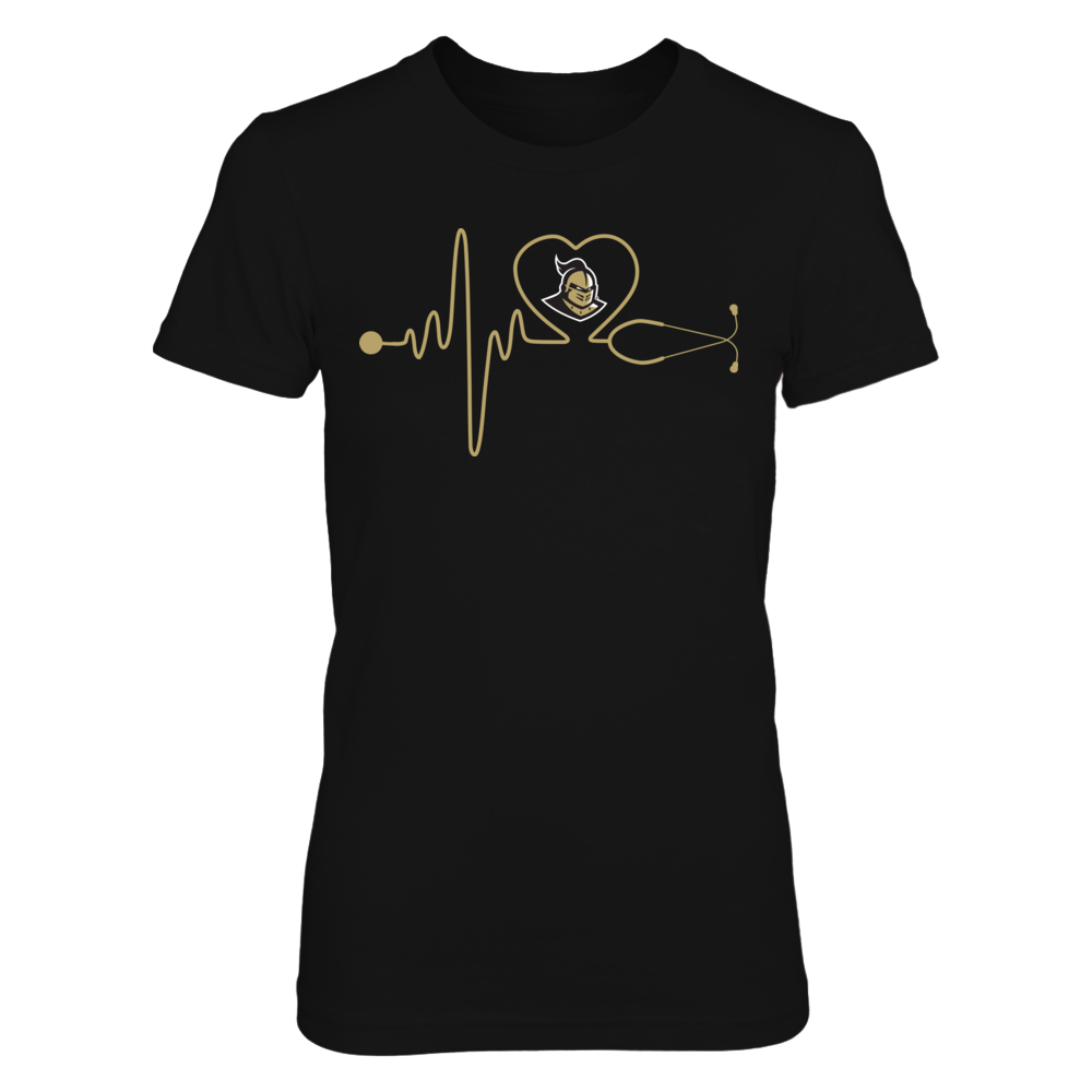 UCF Knights - Nurse - Stethoscope Heartbeat Front picture