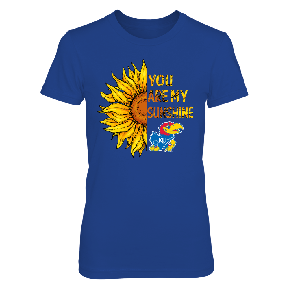 Kansas Jayhawks - Half Sunflower Front picture