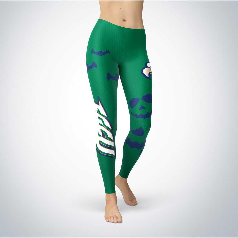 Halloween Design - Florida Gulf Coast Eagles - Leggings Front picture