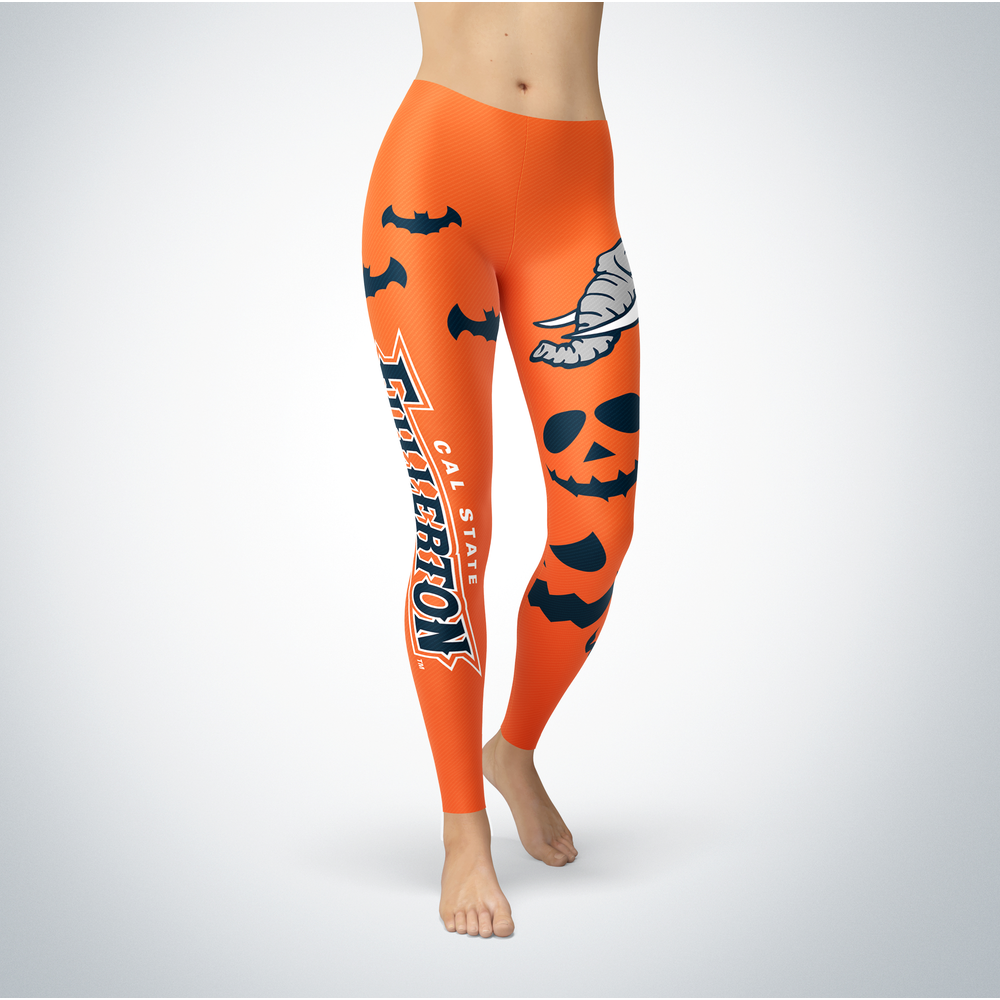 Halloween Design - Cal State Fullerton Titans - Leggings Front picture