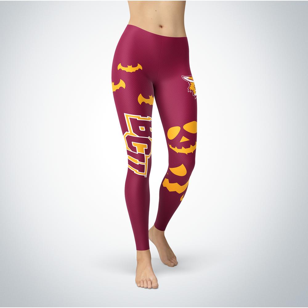 Halloween Design - Bethune-Cookman Wildcats - Leggings Front picture
