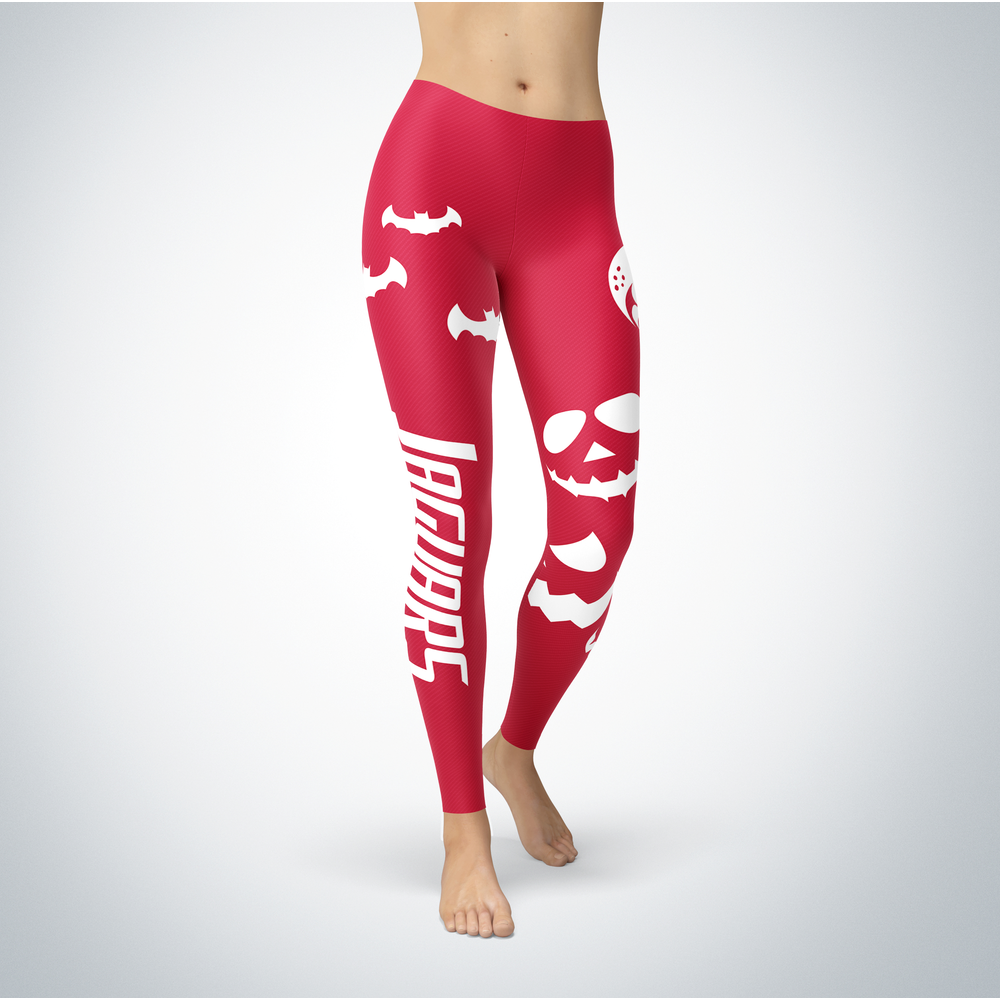 Halloween Design - South Alabama Jaguars - Leggings Front picture