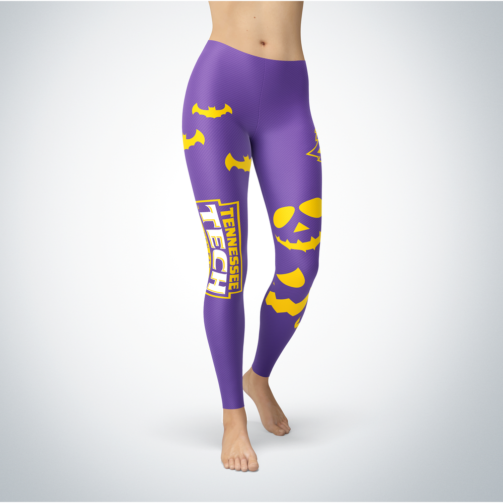 Halloween Design - Tennessee Tech Golden Eagles - Leggings Front picture