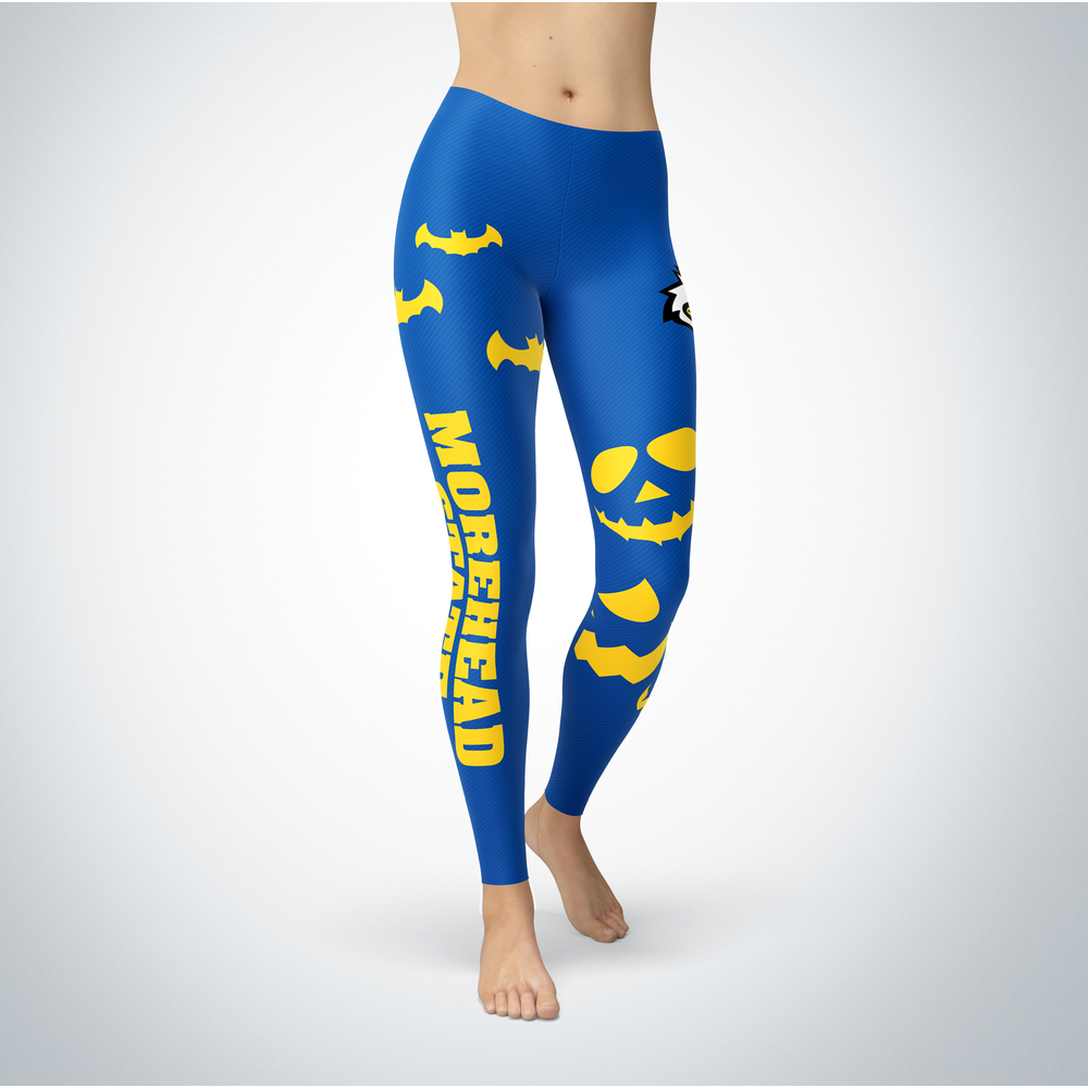 Halloween Design - Morehead State Eagles - Leggings Front picture