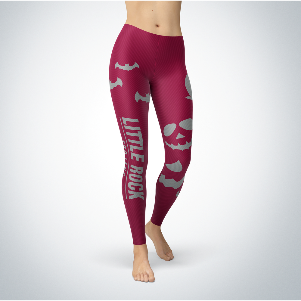 Halloween Design - Arkansas Little Rock Trojans - Leggings Front picture