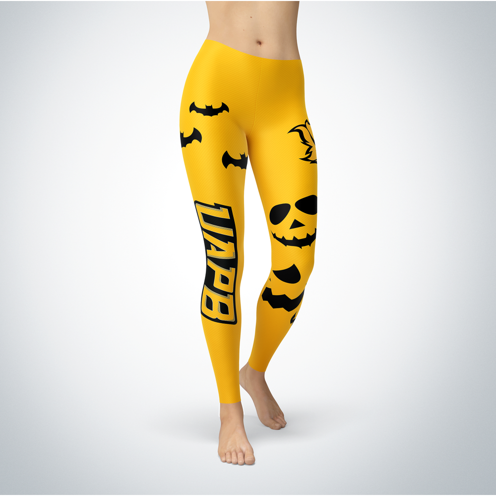 Halloween Design - Arkansas Pine Bluff Golden Lions - Leggings Front picture