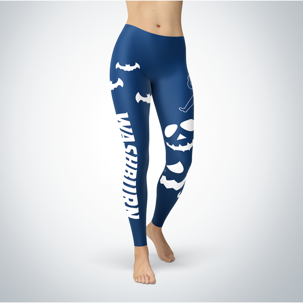 Halloween Design - Washburn Ichabods - Leggings Front picture