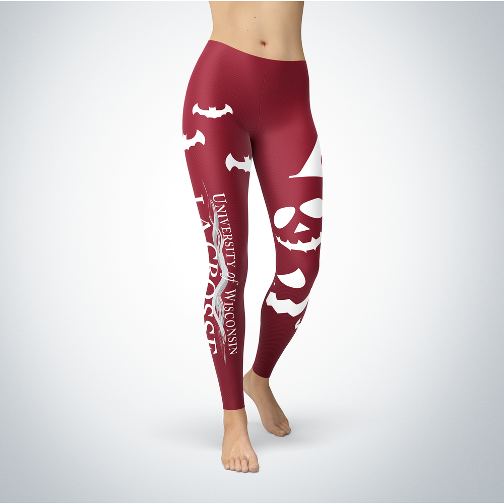 Halloween Design - Wisconsin-La Crosse Eagles - Leggings Front picture