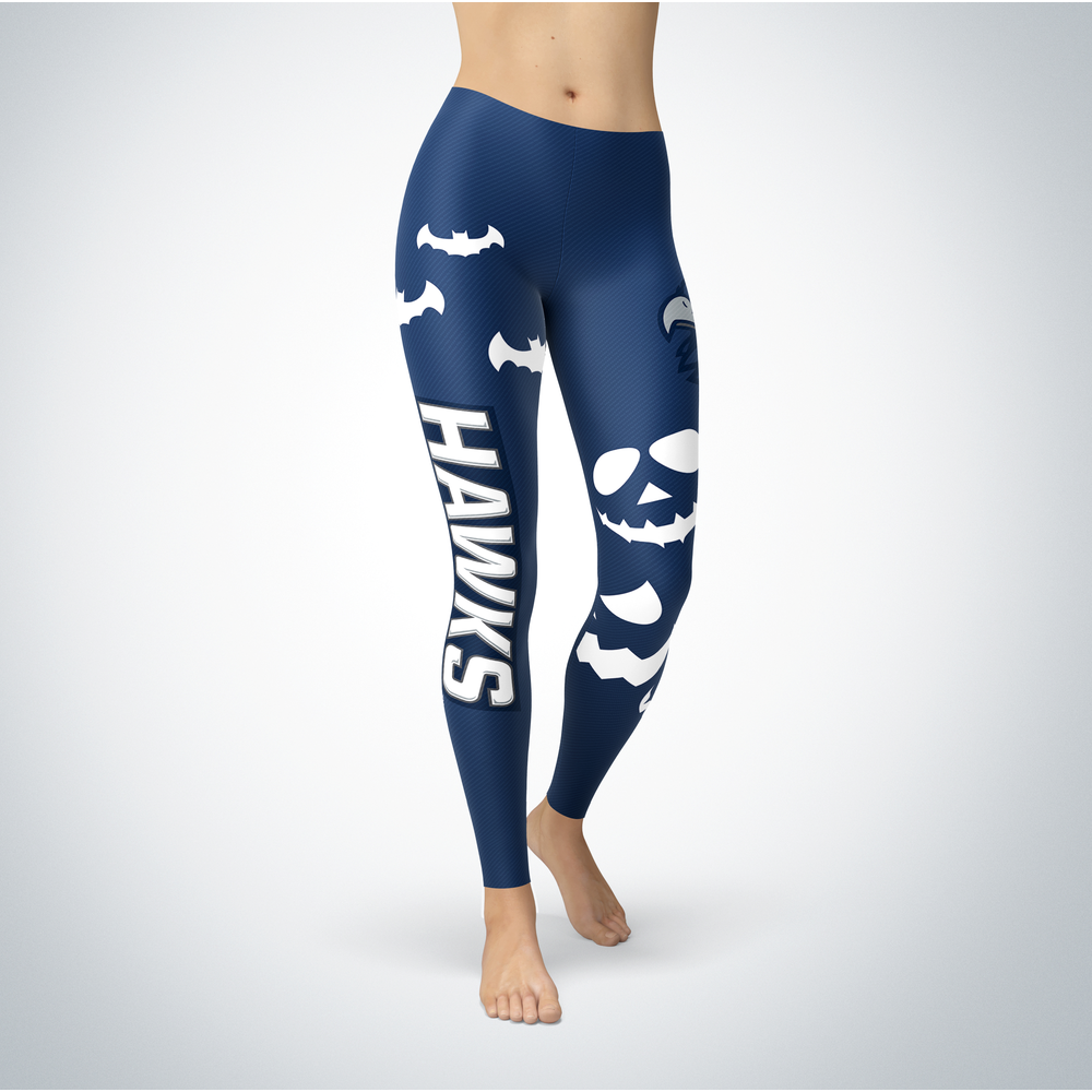 Halloween Design - Monmouth Hawks - Leggings Front picture