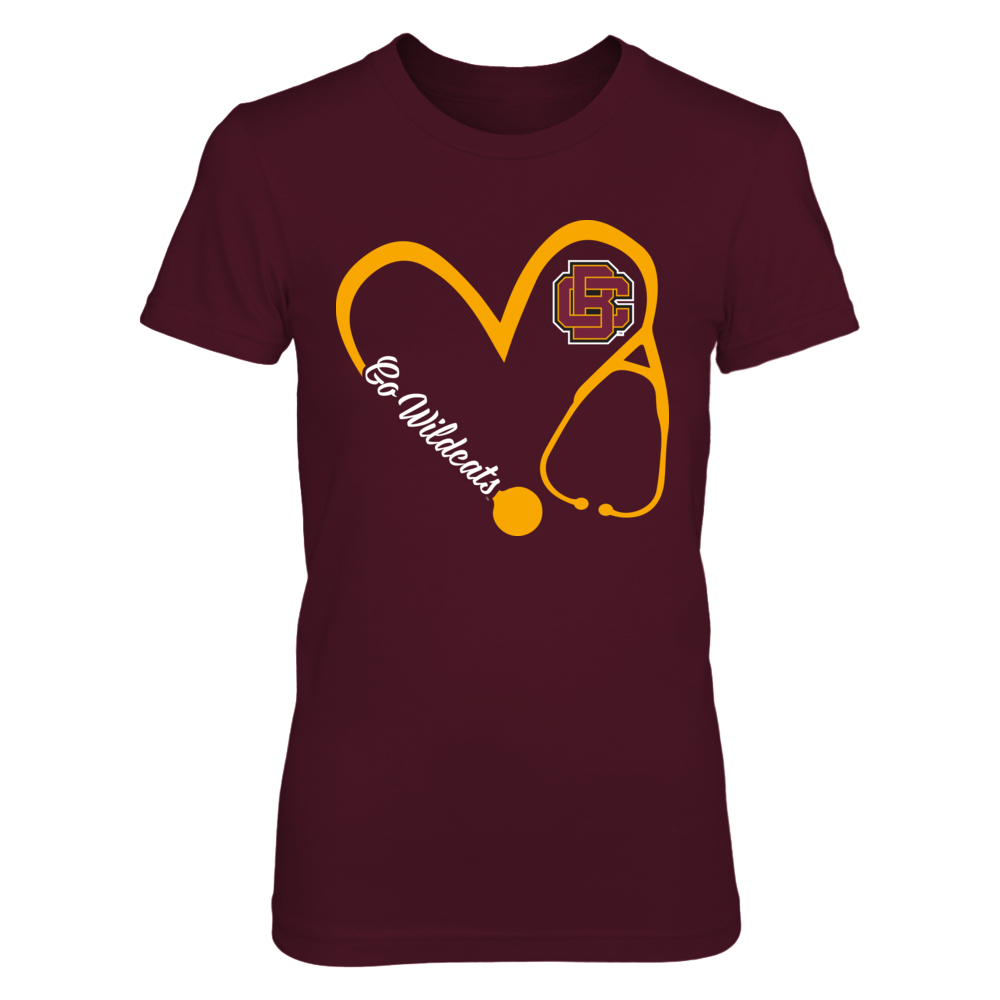 Bethune-Cookman Wildcats - Heart 3/4 - Nurse Front picture