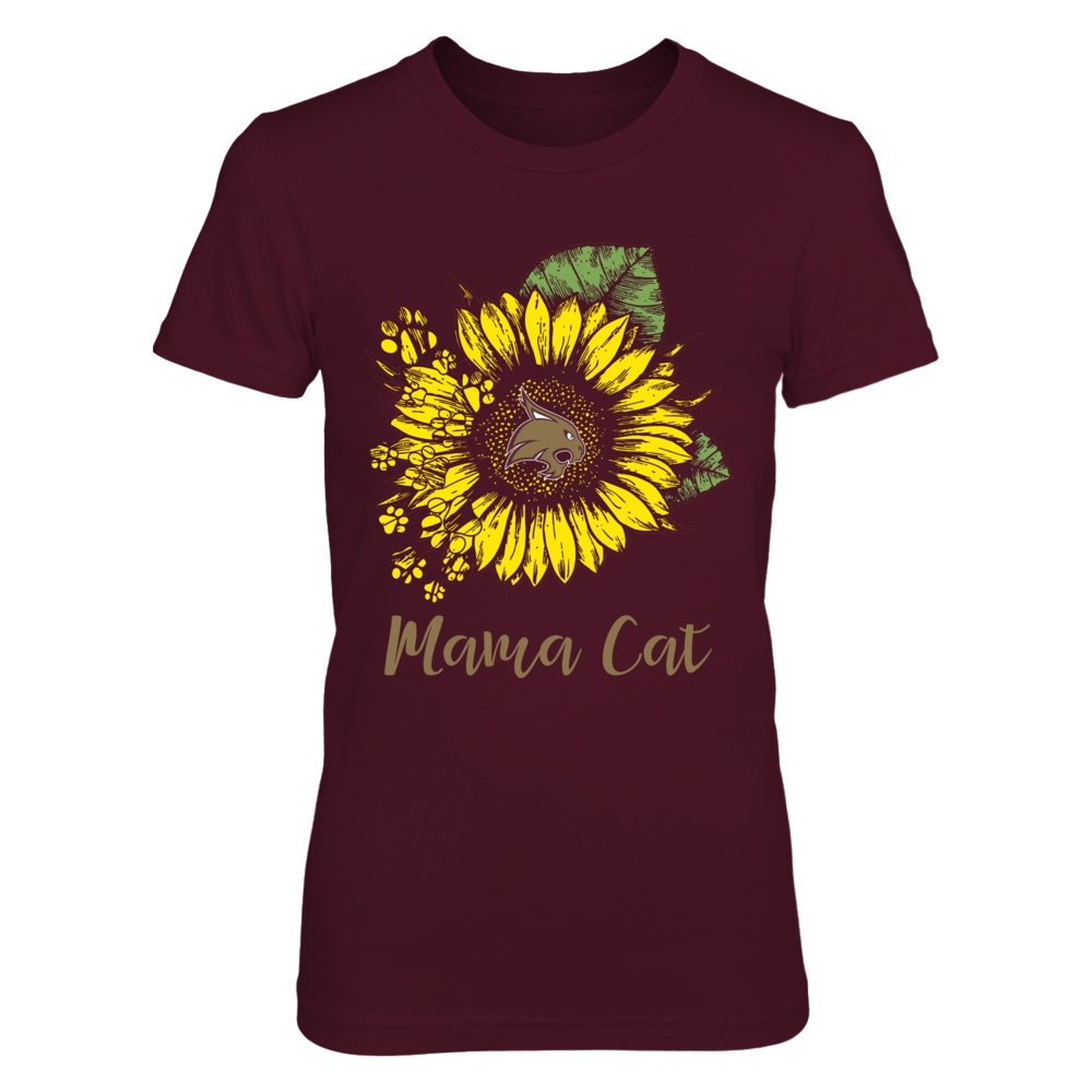 Texas State Bobcats - Sunflower - Mama Cat Front picture