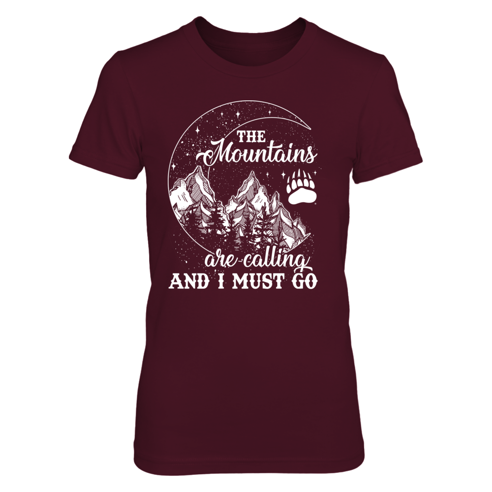 Montana Grizzlies - Mountain Moon - The Mountains Are Calling Front picture