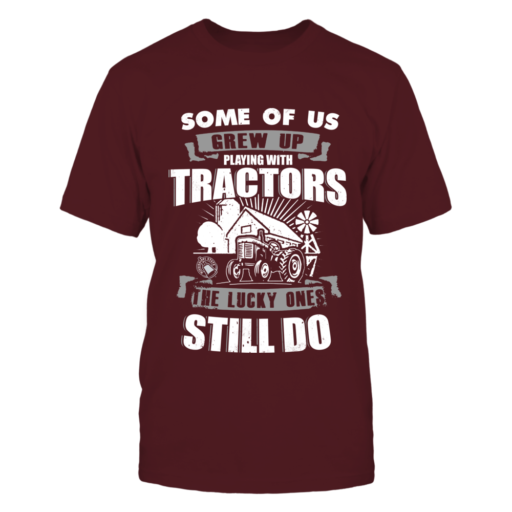 Mississippi State Bulldogs - Farmer - Playing With Tractors Front picture