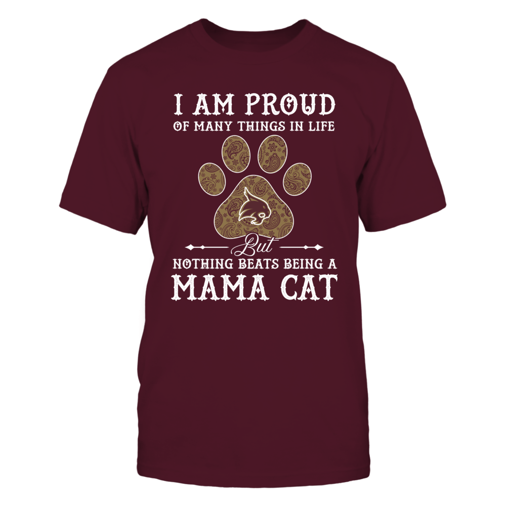 Texas State Bobcats - Nothing Beats Being A Mama Cat - Mom In Paw Front picture