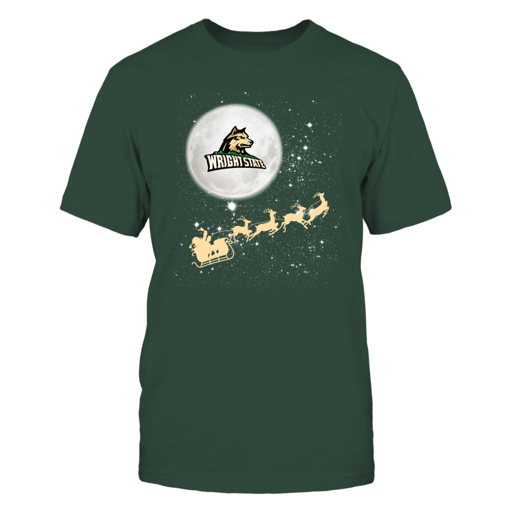 Wright State Raiders - Christmas - Football Sleigh Front picture