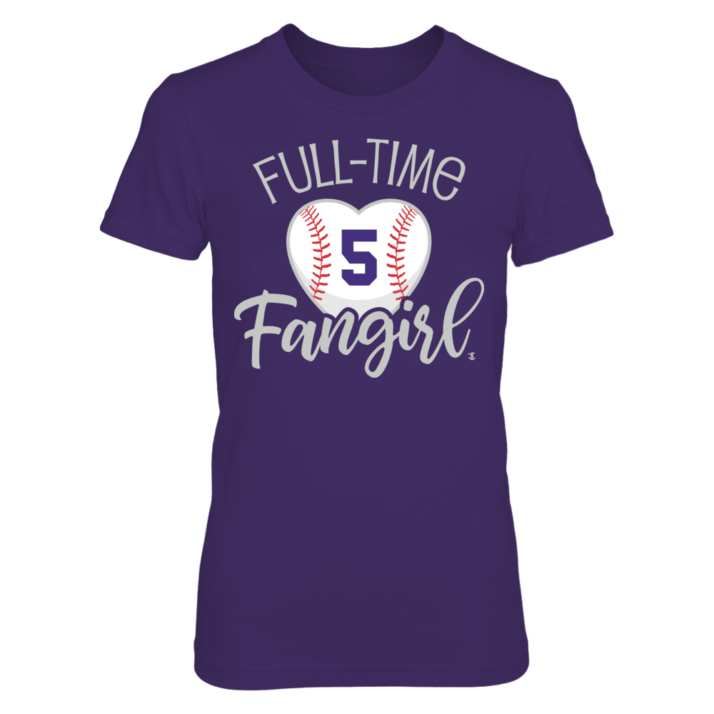 Full-Time FanGirl Carlos González T-Shirt | Tank Front picture