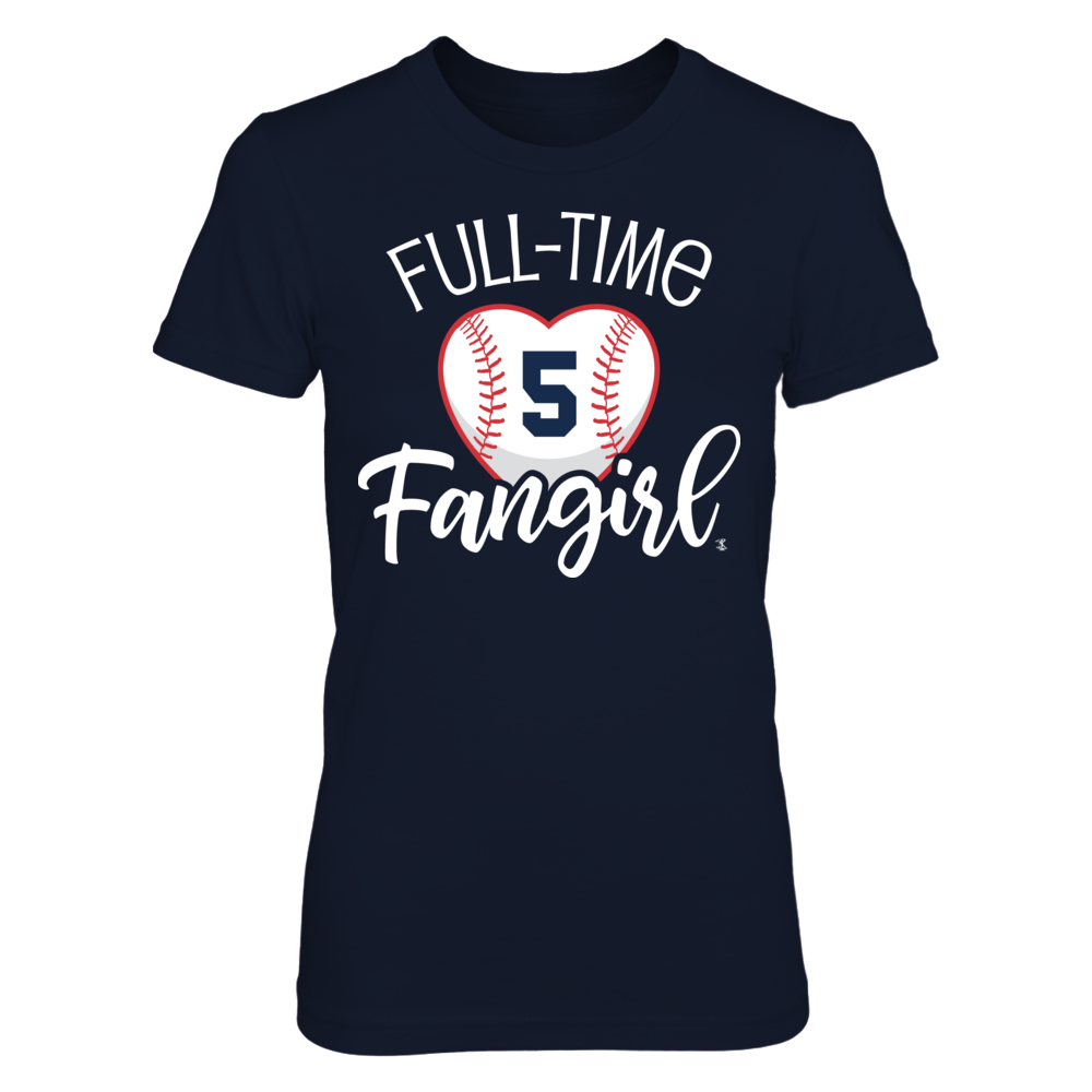 Full-Time FanGirl FreddieFreeman T-Shirt | Tank Front picture