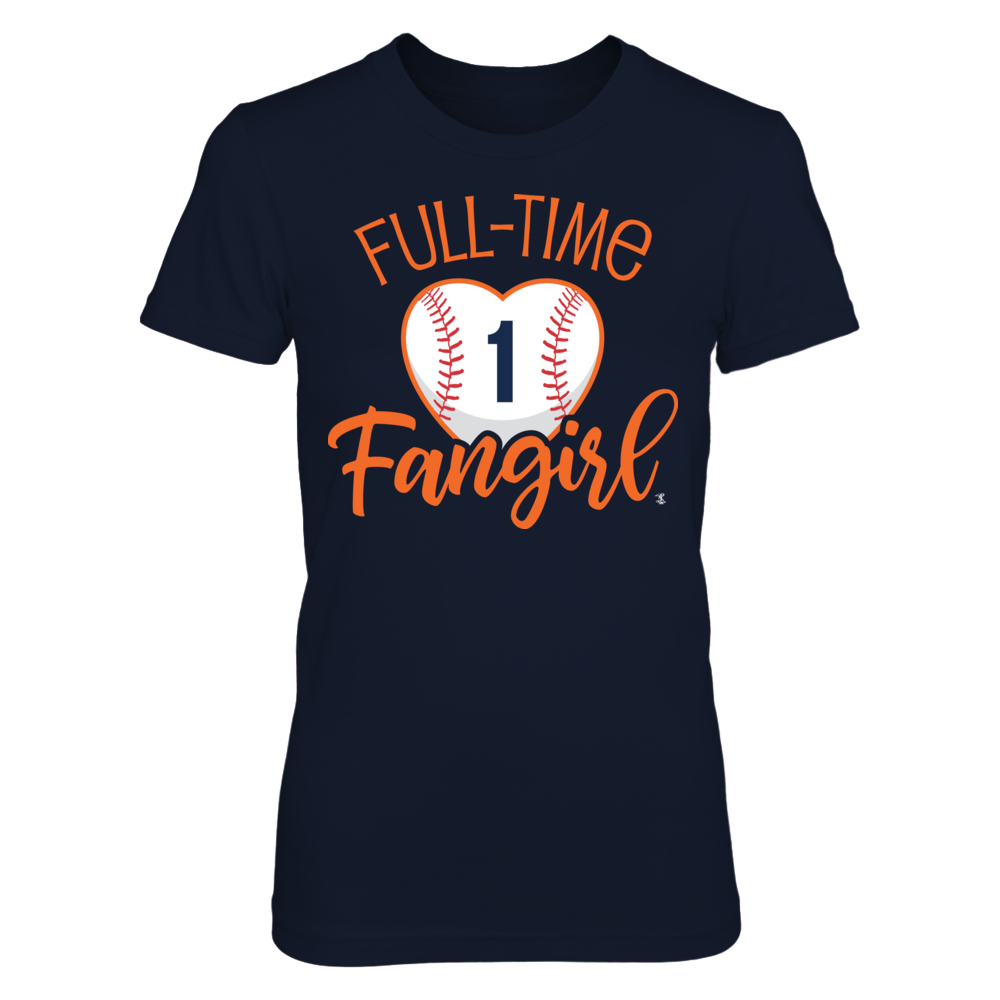 Full-Time FanGirl Carlos Correa T-Shirt | Tank Front picture