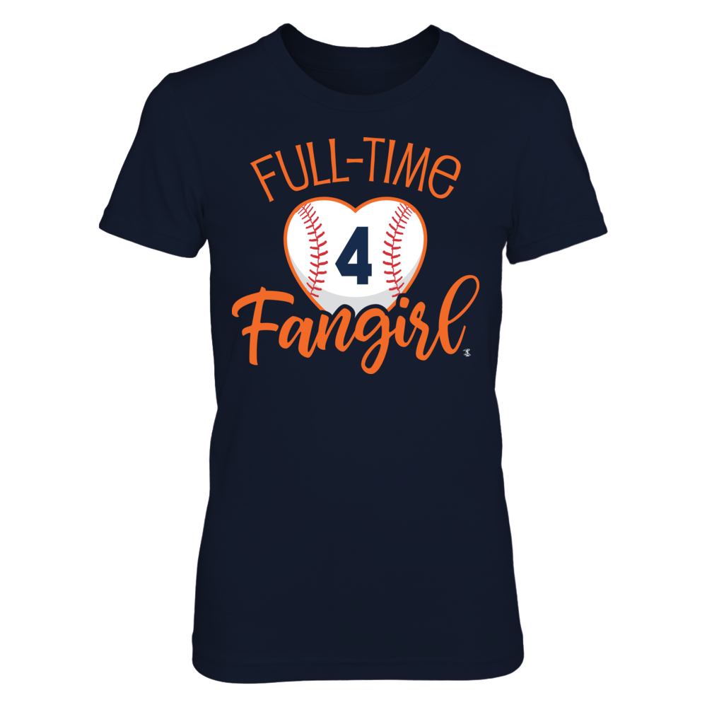 Full-Time FanGirl George Springer  T-Shirt | Tank Front picture