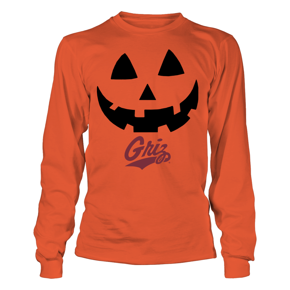 Montana Grizzlies - Pumpkin Smile Version 2 Front picture