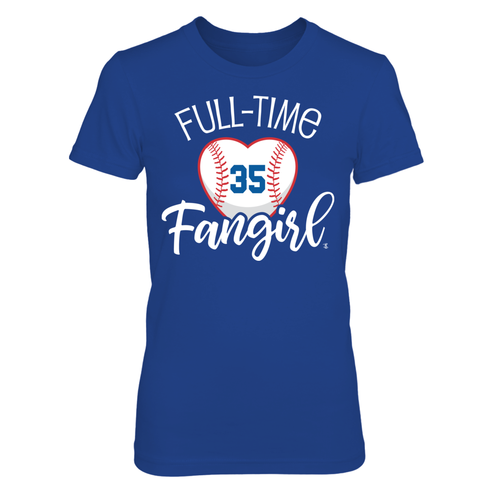 Full-Time FanGirl Cody Bellinger T-Shirt | Tank Front picture