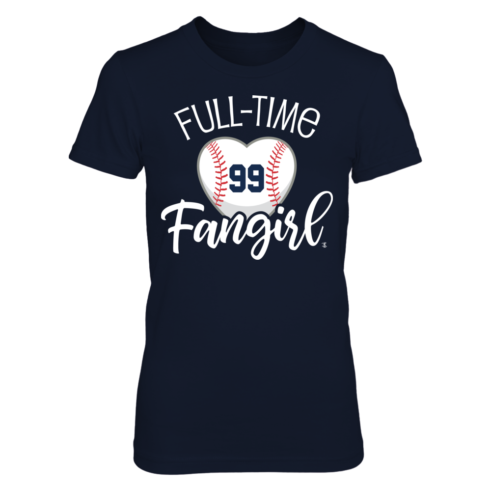Full-Time FanGirl Aaron Judge T-Shirt | Tank Front picture
