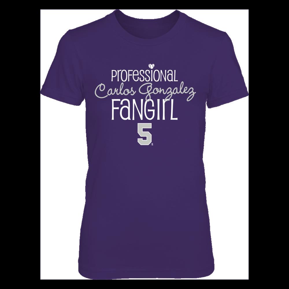 Professional FanGirl Carlos González  T-Shirt | Tank Front picture