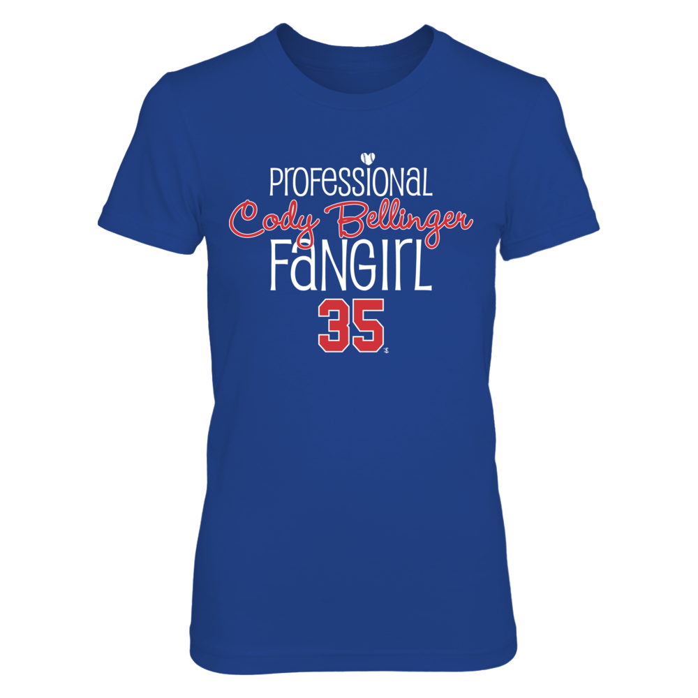 Professional FanGirl Cody Bellinger T-Shirt | Tank Front picture