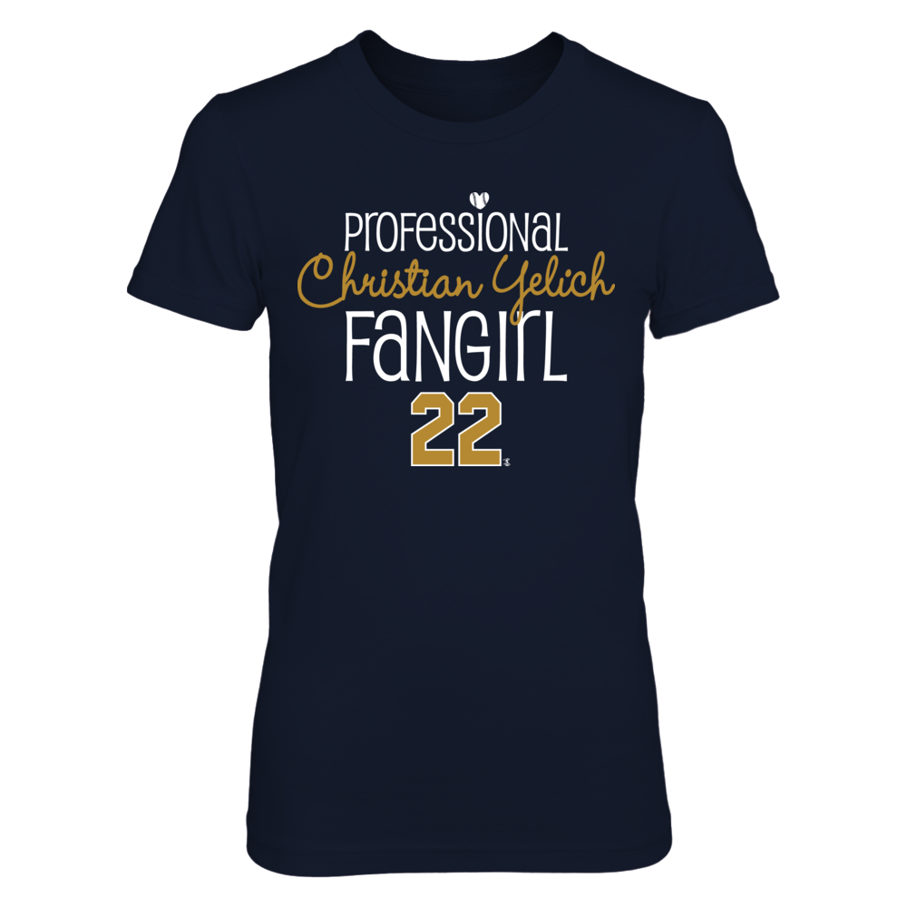 Professional FanGirl Christian Yelich T-Shirt | Tank Front picture