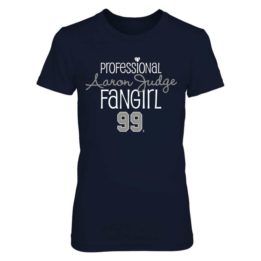 Professional FanGirl Aaron Judge T-Shirt | Tank Front picture