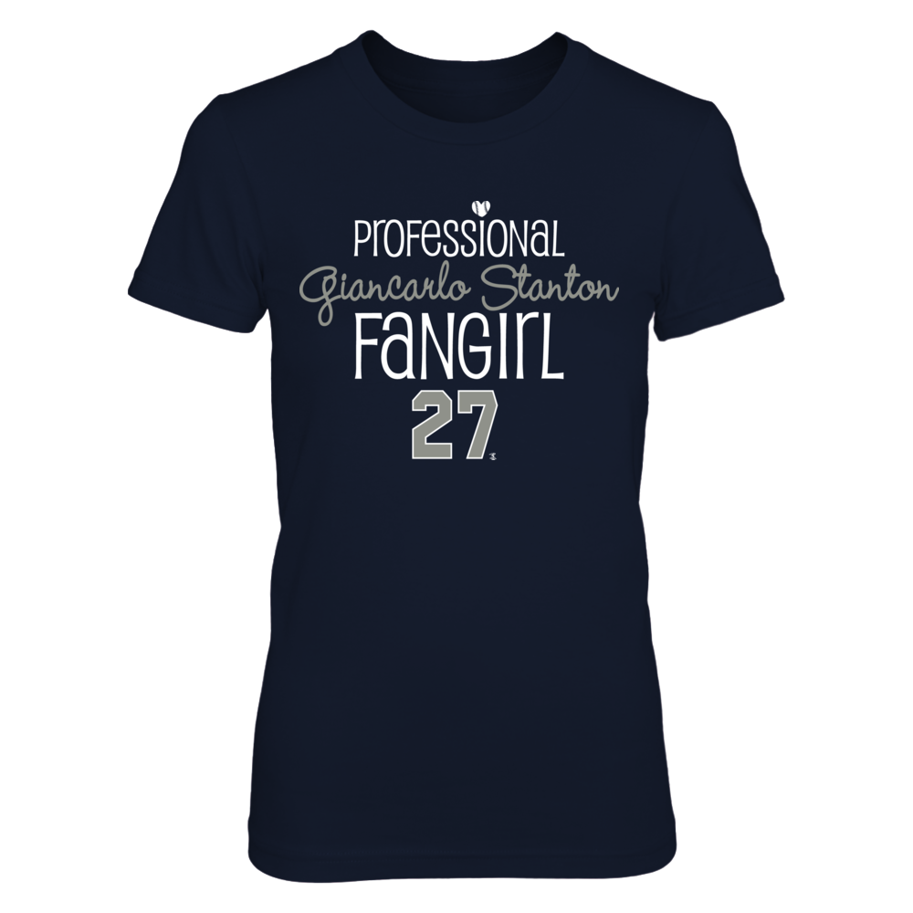Professional FanGirl Giancarlo Stanton T-Shirt | Tank Front picture