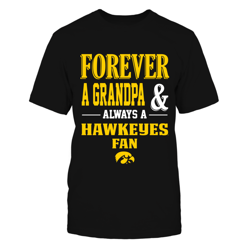 Iowa Hawkeyes - Forever Grandpa Fan Front picture
