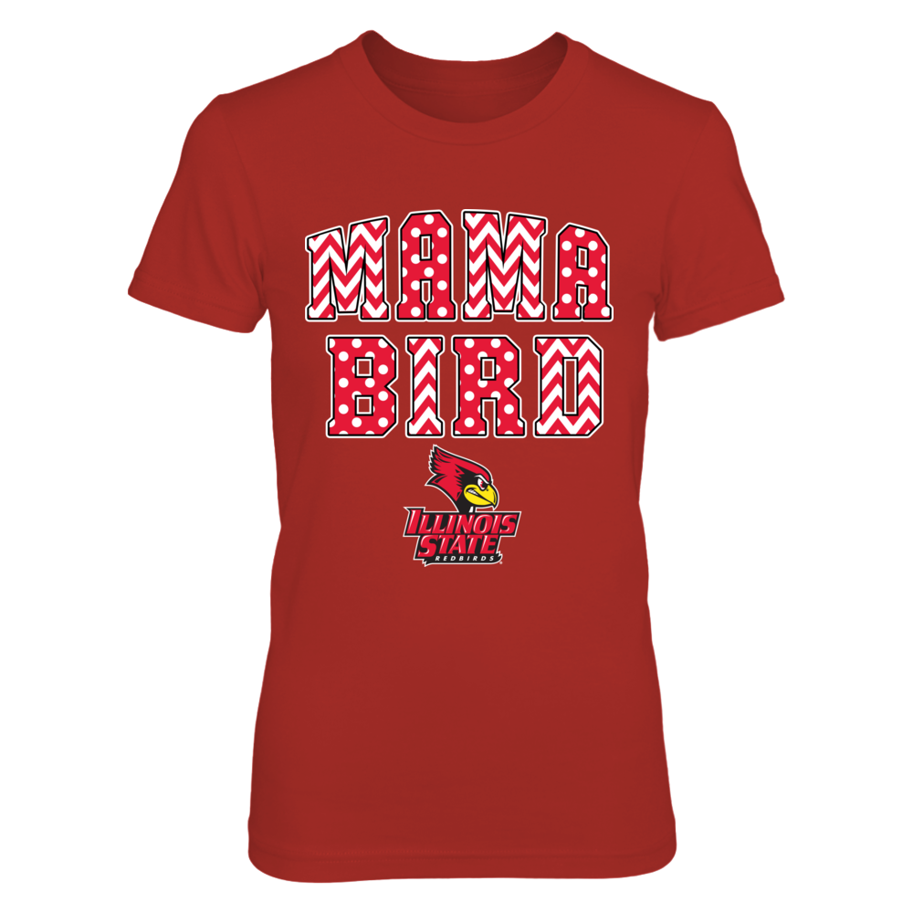Illinois State Redbirds - Pattern Mama Bird Front picture