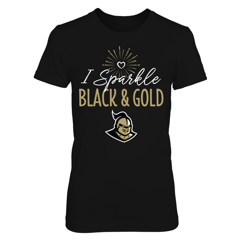 I Sparkle UCF Knights School Colors T-Shirt | Tank Front picture