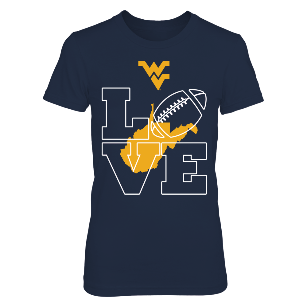 Love West Virginia Mountaineers Football Front picture