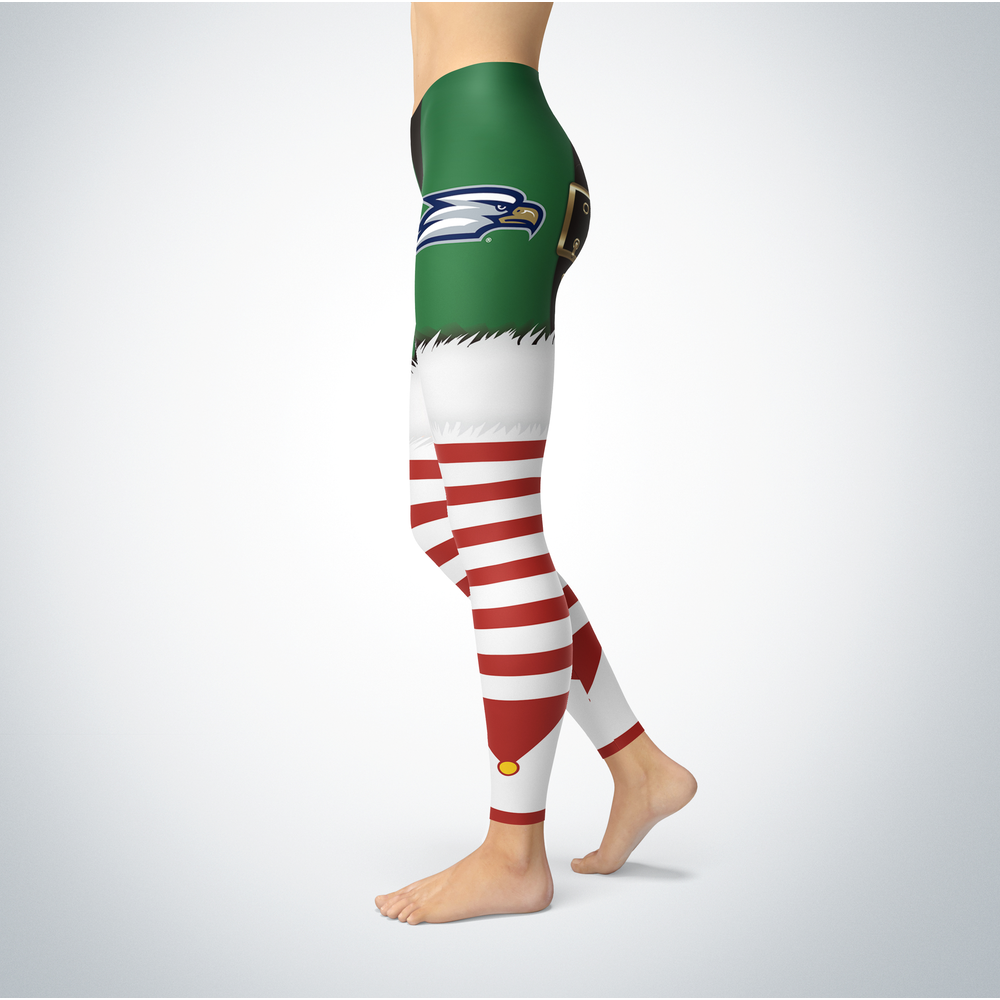 Christmas Elf Georgia Southern Eagles Leggings Front picture