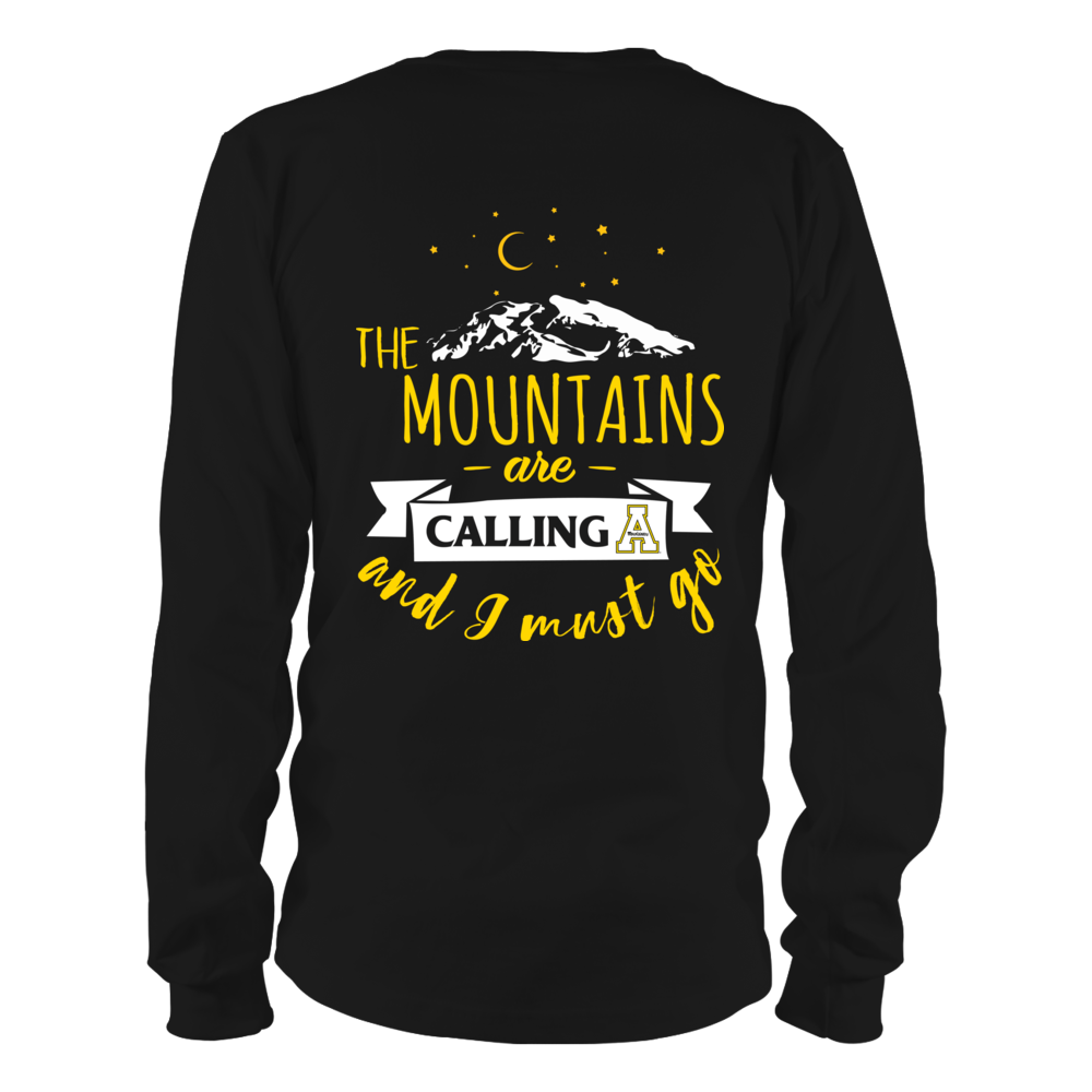 Appalachian State Mountaineers - The Mountains Are Calling - Back Back picture