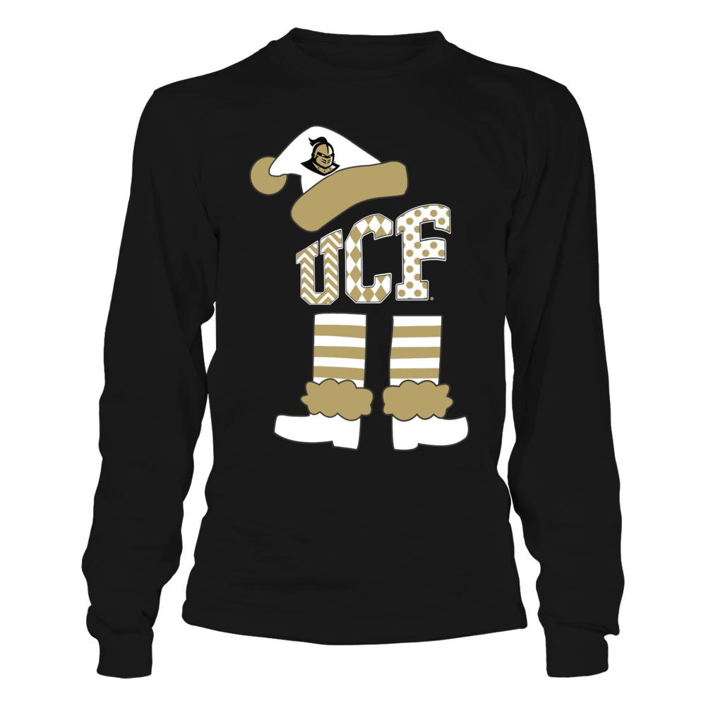 UCF Knights - Christmas - Patterned Letters Elf Man Front picture