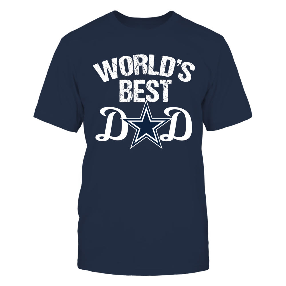 Dallas Cowboys Dallas Cowboys World's Best Dad FanPrint