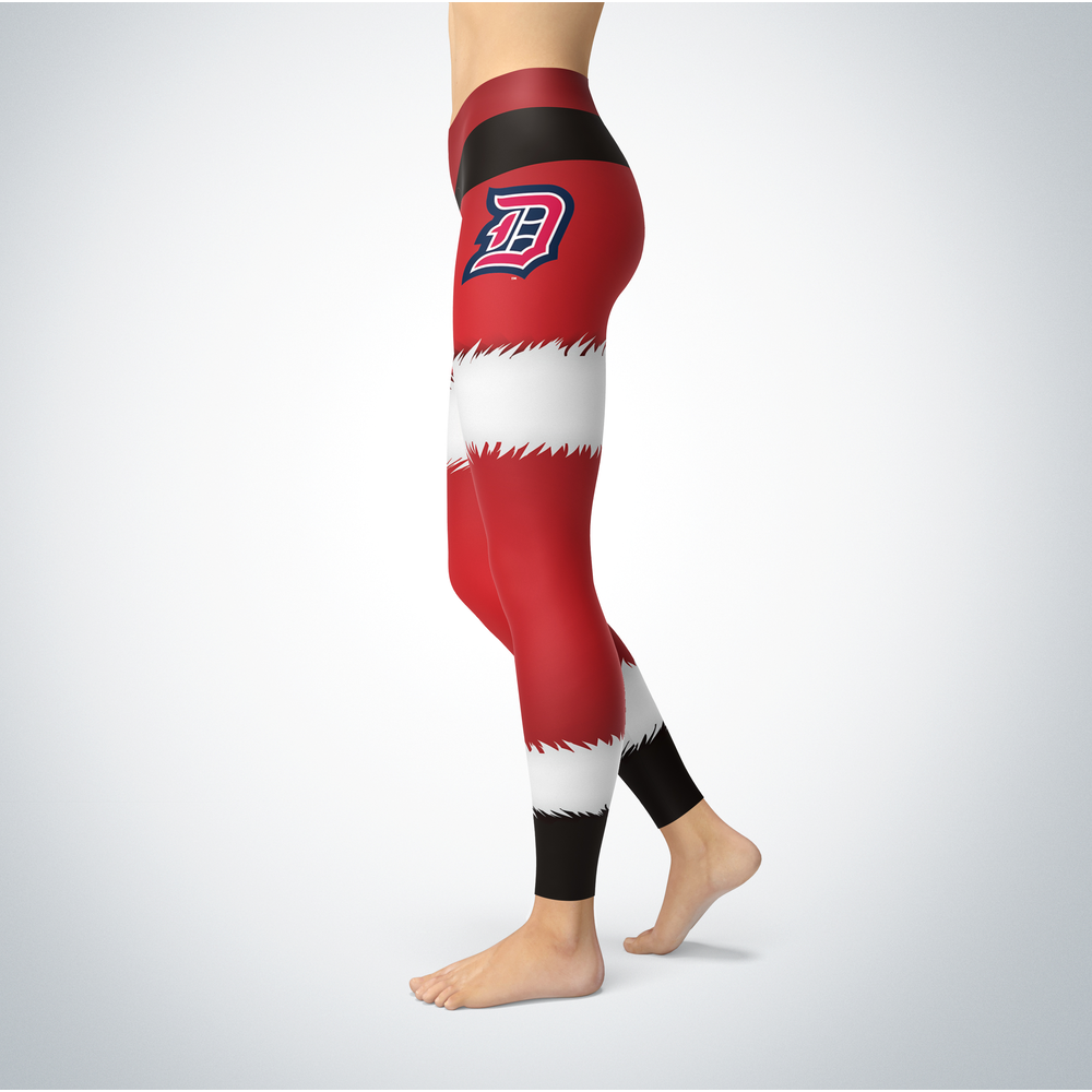 Santa Design Duquesne Dukes Leggings Front picture