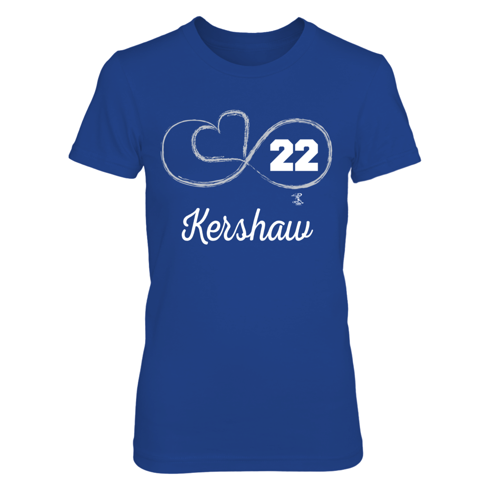 Infinite Heart - Clayton Kershaw Front picture