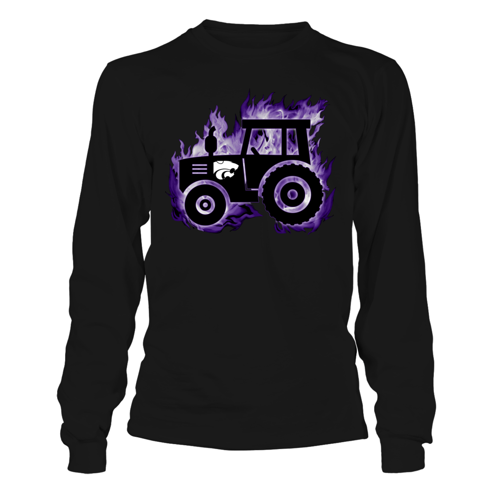 Kansas State Wildcats - Fire Tractor Front picture