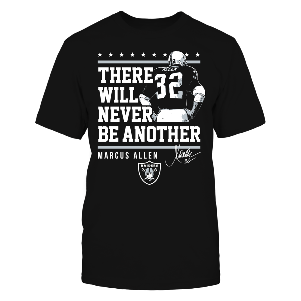 Oakland Raiders - Never Be Another Marcus Allen Front picture