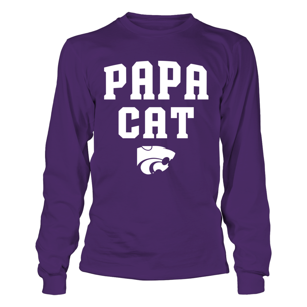Kansas State Wildcats - Papa Cat Front picture